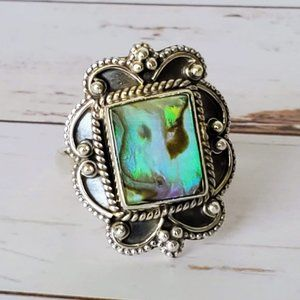 Mermaid's Dream Abalone Ring